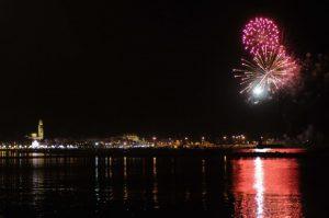 Bari, fuochi d'artificio un'ora dopo l'agguato a Giuseppe Gelao