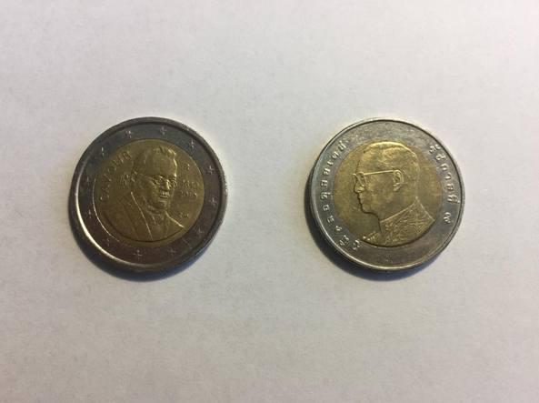 Occhio al resto: in circolazione monete da 2 euro false