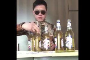 YOUTUBE Come bere sei birre tutte insieme in meno di un minuto