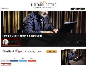 """Blog di Beppe Grillo: è suo per lo Statuto M5S. Il """"prestanome"""" titolare del dominio: """"Io non c'entro"""""""