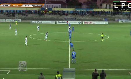 Carrarese-Siena Sportube: streaming diretta live, ecco come vedere la partita