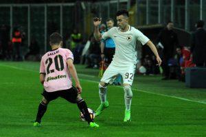 Palermo-Roma 0-3, El Shaarawy e Dzeko tornano al gol