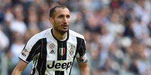 Juve, Giorgio Chiellini ancora infortunato: salta il Milan