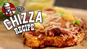 Chizza, la pizza fatta con la cotoletta di pollo che fa arrabiare gli italiani