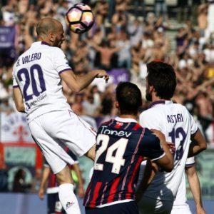 Crotone-Fiorentina 0-1 pagelle, highlights, foto: Kalinic decisivo