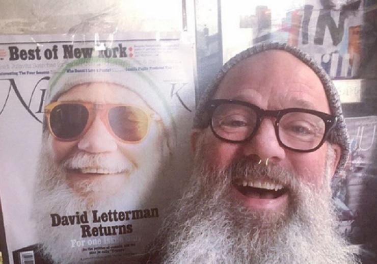 Michael Stipe e la foto pubblicata su Instagram