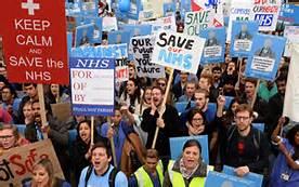 La dimostrazione a Londra