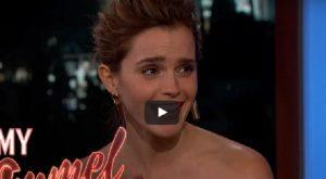 """Harry Potter, Emma Watson confessa: """"Rovinavo tutte le scene con il mio tic"""""""