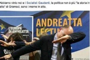 Enrico Letta balla la Dab Dance. Quella che faceva Pogba dopo i gol FOTO