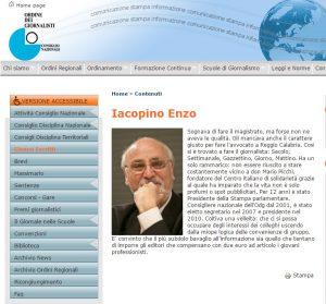 Odg, Enzo Iacopino dà le dimissioni da presidente dell'Ordine dei giornalisti