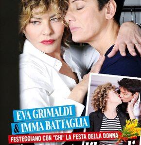 """Eva Grimaldi fa coming out: """"Amo Imma Battaglia. Ho trovato l'amore a 50 anni"""""""