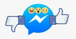 """Facebook testa il pollice verso: tasto """"non mi piace"""" in prova su chat Messenger"""