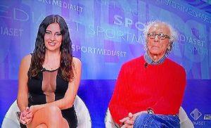 Francesca Brienza e Giampiero Mughini