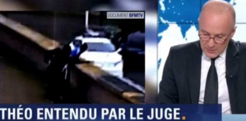 Theo, giovane nero violentato col manganello da polizia francese