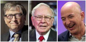 Forbes, classifica paperoni: vince Bill Gates, poi Buffett e Bezos. In Italia prima la moglie di Ferrero