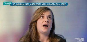 Irene Buscemi: 'Io, giornalista aggredita nella piazza di Alatri'