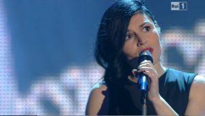 """Giusy Ferreri è incinta: """"L'ho sentito sul palco di Sanremo"""""""