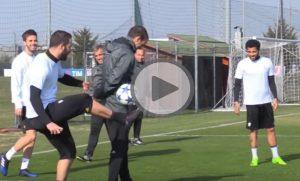 YOUTUBE Juventus, Higuain fa il sombrero ad Allegri