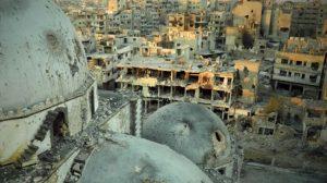 Homs    Siria    dopo sgombero ribelli la ricostruzione ricomincia dal suk