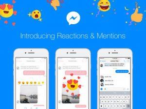 Facebook Messenger, arrivano Reactions e Menzioni nelle chat