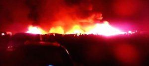 Incendio al Gran Ghetto di Foggia: morti carbonizzati due migranti
