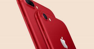 Apple si rinnova: iPhone 7 Red e iPad da 9,7 pollici in vendita dal 24 marzo