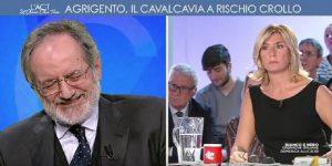 """Ignazio La Russa, gaffe in studio: """"Io a questo gli darei un cazzotto"""""""