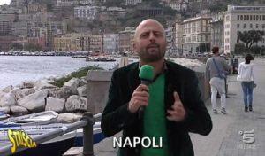 Luca Abete, l'inviato di Striscia la notizia aggredito a Caserta