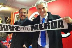 """""""Juve merda. Paga gli arbitri"""": Marcello Taglialatela, deputato ultras del Napoli"""