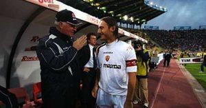 """Mazzone, Totti: """"Chissà come sarebbe andata se non ci fossi stato tu"""""""