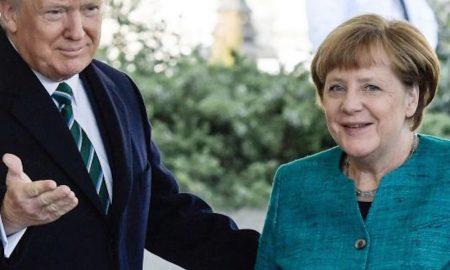 Merkel e Trump, primo faccia a faccia (con Ivanka) FOTO 2