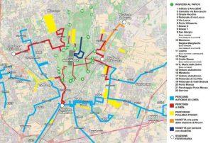 Papa a Milano 25 marzo, mappa: strade chiuse e blocco bus e metro
