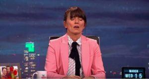 Davina McCall come Meg Ryan: simula orgasmo in diretta