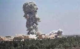 Bombe su Palmira