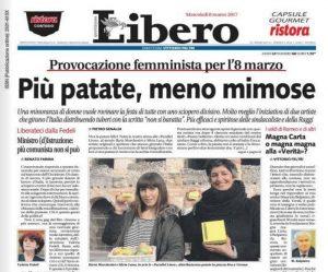 8 marzo: patate, non mimose. La protesta ironica di due artiste veronesi
