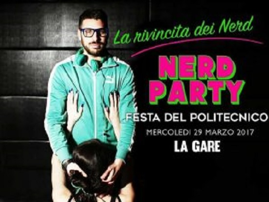 Politecnico Torino, la locandina scandalo della festa universitaria