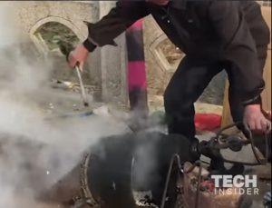 YOUTUBE Popcorn, in Cina si fa con una esplosione: il pericoloso metodo