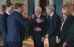 YOUTUBE Xavier Bettel, presidente Lussemburgo presenta marito a Mattarella