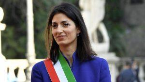 """Trattati Roma, Raggi contro la Rai: """"Tg1 ha censurato il mio discorso"""""""