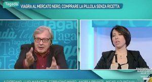 """Vittorio Sgarbi: """"La vecchiaia colpisce più l'uccello del cervello"""""""