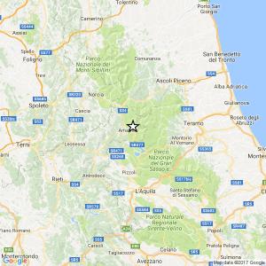 Terremoto, scossa magnitudo 3.2 in provincia di Rieti