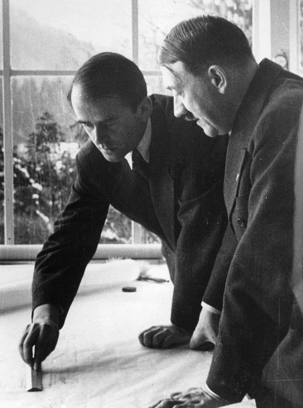 Albert Speer, l'architetto amico Hitler che si costruì una fortuna con le memorie scritte in cella