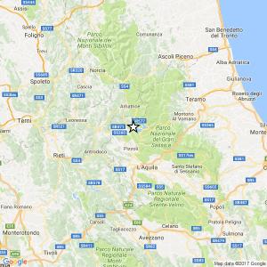 Terremoto tra L'Aquila e Amatrice, nuova scossa di magnitudo 3