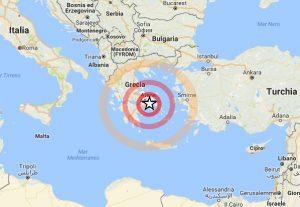 Terremoto Grecia, scossa magnitudo 4.7 a sud di Atene