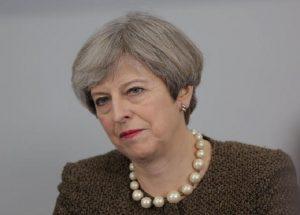 Theresa May (foto Ansa)