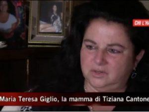 """Tiziana Cantone, madre a """"La Vita in diretta"""": """"Plagiata dall'ex..."""""""
