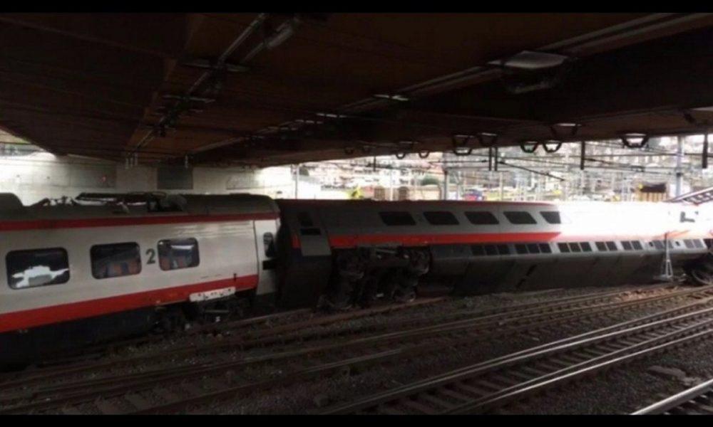 Deraglia un treno italiano, diversi feriti