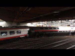 Treno deraglia deraglia a Lucerna: ci sono feriti. Era partito da Milano