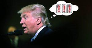 """Trump: """"I love coke"""". Se si sbaglia ci ammazza"""