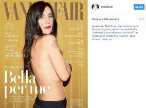 Paola Turci bella e sensuale per Vanity Fair